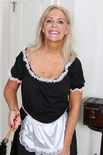 58 Year Old Judy Mayflower from Onlyover30 Playing French Female House Servant Here