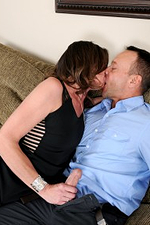 41 Year Old Jizzabelle Getting Her Tidy Cootchie Plunged with Stiff Cock