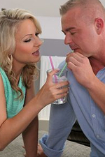 Hot Golden-haired Holly B and Her Man