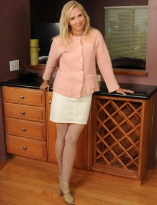 At 55 Years Old Beautiful and Elegant Annabelle Looks Extremely Hot