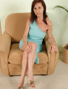 Aged and Sexually Excited Jenny H from  Onlyover30  Opens Her Strong Slit
