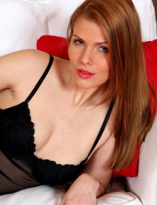 Beautiful Older Katalin Positions in and Removes Her Black Panties
