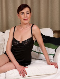 Super Horny Kate T Slides off Her Black Underware and Widens Her  Hairy Box