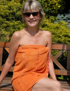At 45 Years Old Sherry D Looks Amazing Nude Outdoors in the Sunshine
