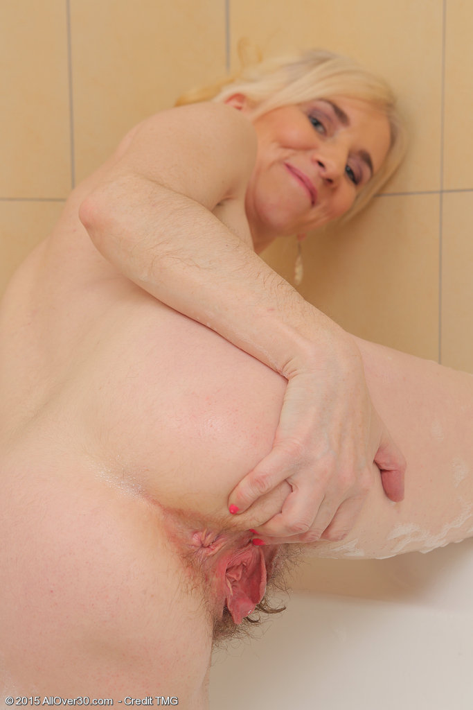 Hot blonde milf gets fucked in the ass 5