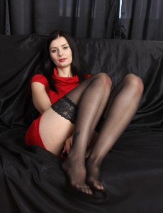 Puny 31 Year Old Helena Dark from  Onlyover30 Showcasing Some Foot Love